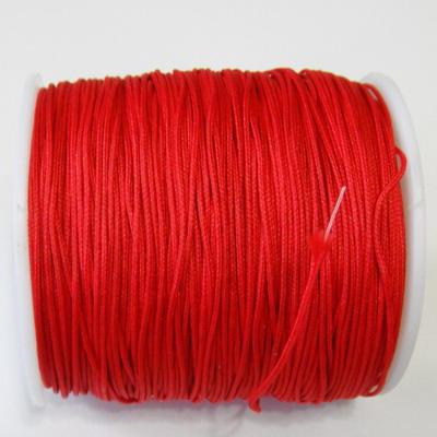 Ata matase rosie 0.8mm, cu interior nylon-bobina cca 91m 1 buc