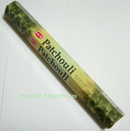 Betisoare parfumate HEM - aroma PATCHOULI 1 cutie
