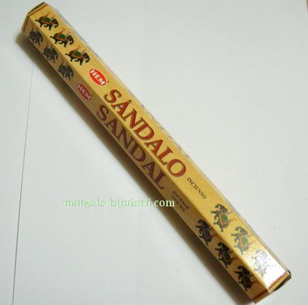 Betisoare parfumate HEM - aroma SANDALO 1 cutie