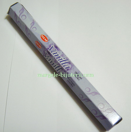 Betisoare parfumate HEM - aroma VANILLA 1 cutie