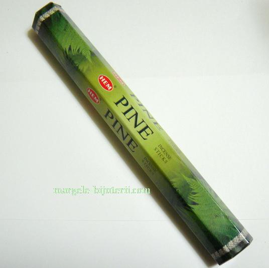 Betisoare parfumate HEM - aroma PINE 1 cutie