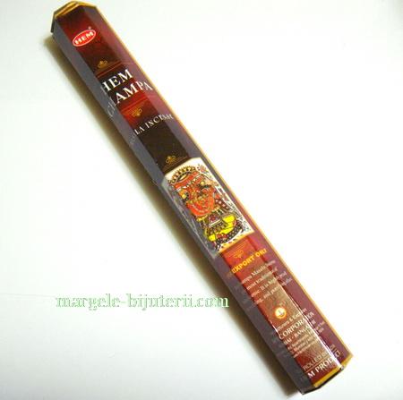 Betisoare parfumate HEM - aroma HEM CHAMPA 1 cutie