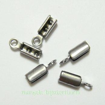 Capat prindere snur 3mm, otel inoxidabil, 10x3mm, interior 2mm 1 buc