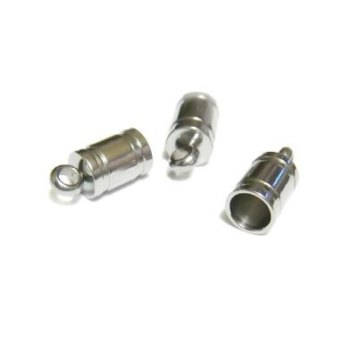 Capat prindere din otel inoxidabil, tubular, 10x5mm 1 buc