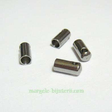 Capat prindere din otel inoxidabil, tubular, 8x4mm, interior 3mm 1 buc