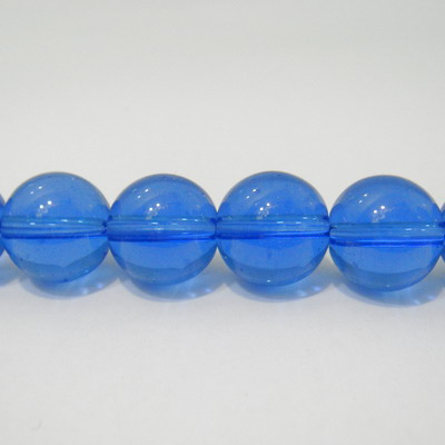 Margele de sticla albastre 12 mm 10 buc