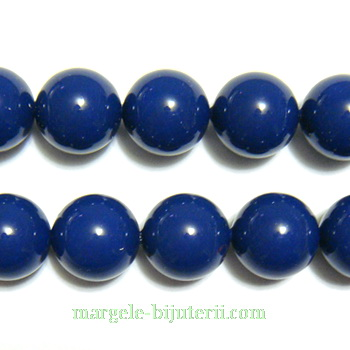 Swarovski Elements, Pearl 5810 Dark Lapis 10mm 1 buc