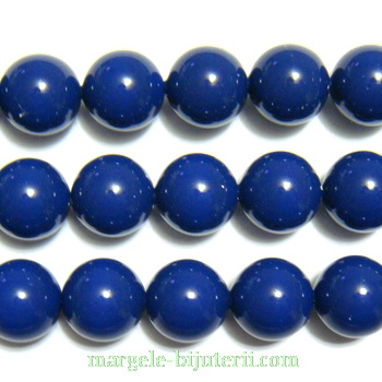 Swarovski Elements, Pearl 5810 Dark Lapis 8mm 1 buc