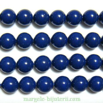Swarovski Elements, Pearl 5810 Dark Lapis 6mm 1 buc