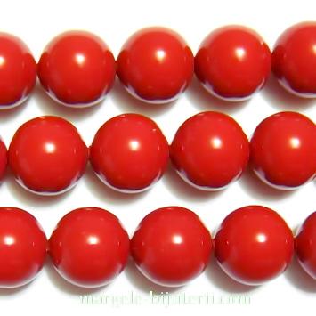 Swarovski Elements, Pearl 5810 Crystal Red Coral 8mm 1 buc