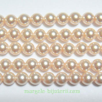 Swarovski Elements, Pearl 5810 Crystal Creamrose 4mm 1 buc