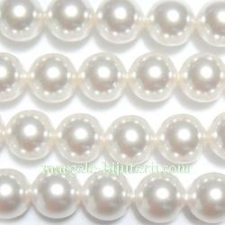 Swarovski Elements, Pearl 5810 Crystal White 8mm 1 buc