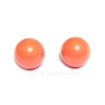Swarovski Elements, Pearl 5818 Crystal Coral 8mm 1 buc