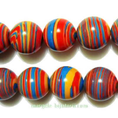 Compozit multicolor, sferic, 12mm 1 buc