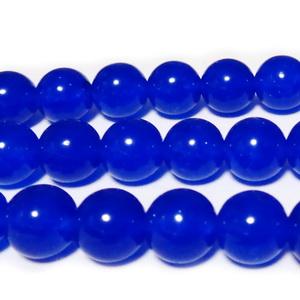 Jad translucid, albastru, 10mm 1 buc