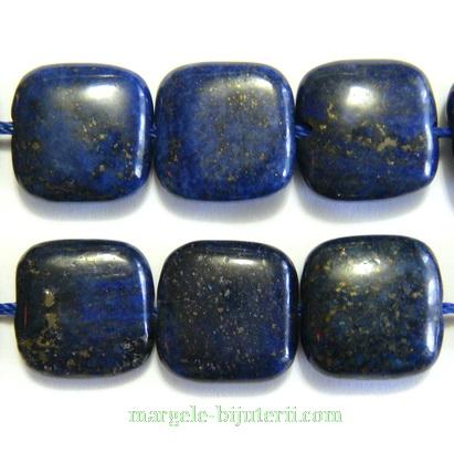 Lapis Lazuli, patrat, 14x14x5mm 1 buc