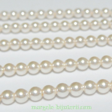 Swarovski Elements, Pearl 5810 Crystal Cream 4mm 1 buc