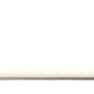 Imitatie catifea alba, 30x20cm, grosime 0.7mm 1 buc