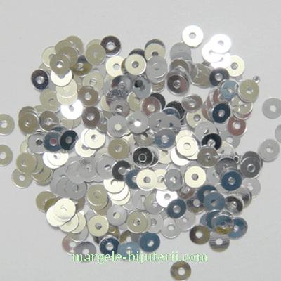 Paiete argintii, 3mm- 3 grame (1000-1100 buc) 3 g