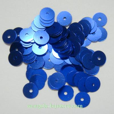 Paiete albastre, 6mm-1 gr(80-90 buc) 1 g