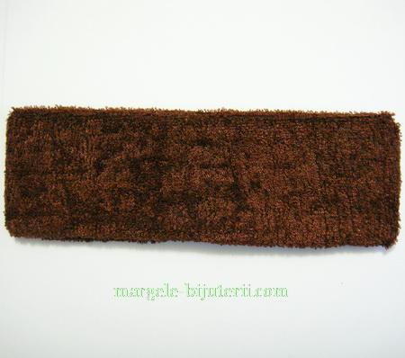 Cordeluta elastica maro, 18x5.5cm 1 buc