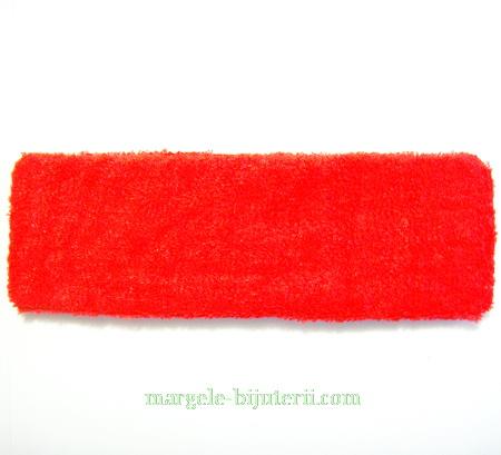 Cordeluta elastica rosie, 18x5.5cm 1 buc