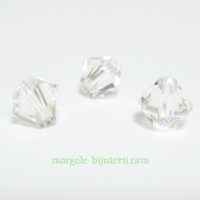 Swarovski Elements, Bicone 5328-Crystal, 4mm 1 buc