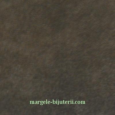 Imitatie catifea maro, 30x20cm, grosime 0.7mm 1 buc