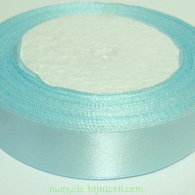 Saten albastru azur, 20 mm 1 rola 22 m